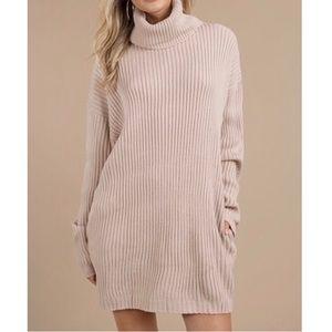 Tobi Oversized Turtleneck Sweater Dress
